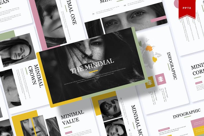 Thumbnail for The Minimal | Powerpoint Template