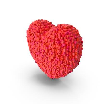 Voxel Corazón