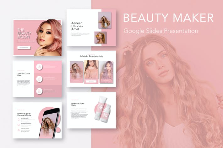 Thumbnail for Beauty Maker Google Slides Template