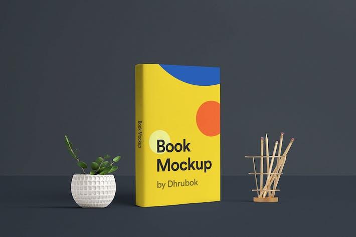 Thumbnail for 3D Book Mockup 01