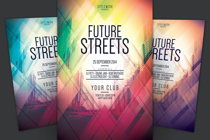 Thumbnail for Future Streets Flyer