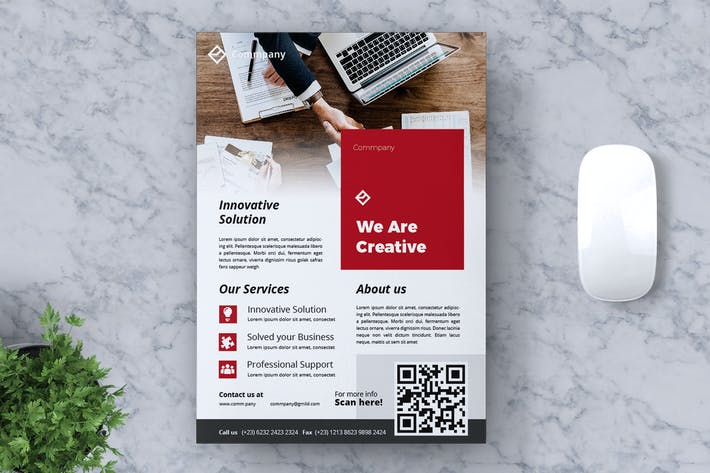 Thumbnail for Corporate Business Flyer Vol. 14