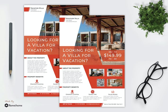 Thumbnail for Real Estate Flyer vol.06
