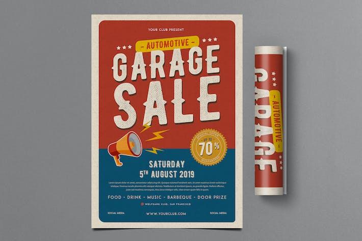 Thumbnail for Retro Automotive Garage Sale