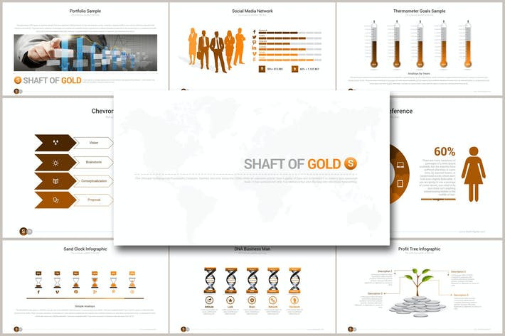 SHAFT OF GOLD Powerpoint
