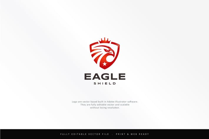 Thumbnail for King Eagle Shield Logo