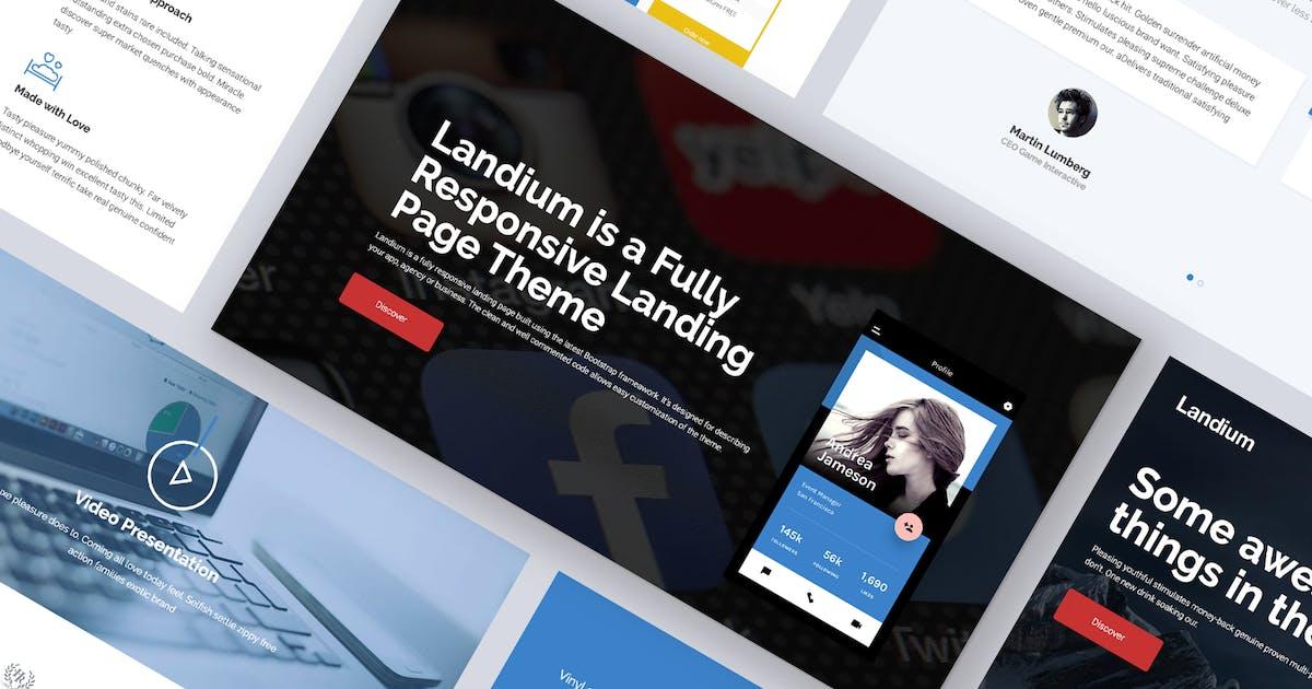 Download One Page Landing Page WordPress Theme by Ninetheme