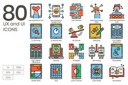 UX and UI Icons
