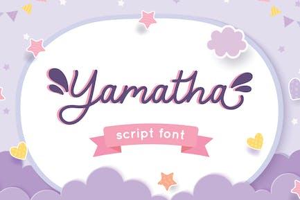 Yamatha - Instagram Font