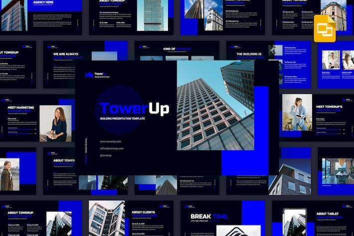 Thumbnail for Towerup - строительный Шаблон Google слайдов