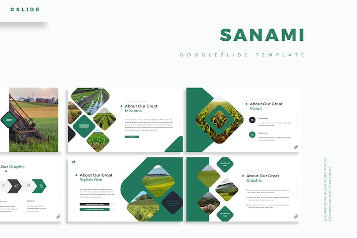 Thumbnail for Sanami - Google Slides Template