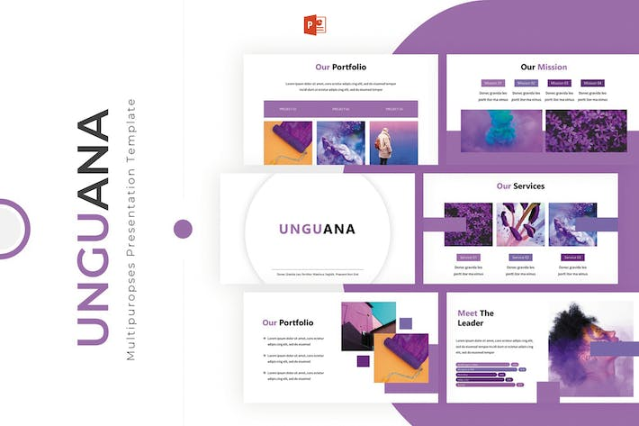Thumbnail for Unguana - Powerpoint Template
