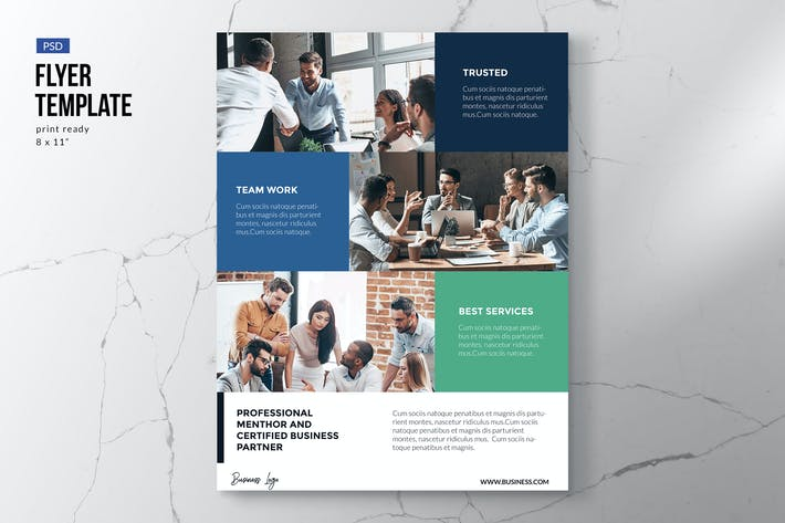 Cover Image For Modern Business Flyer Template
