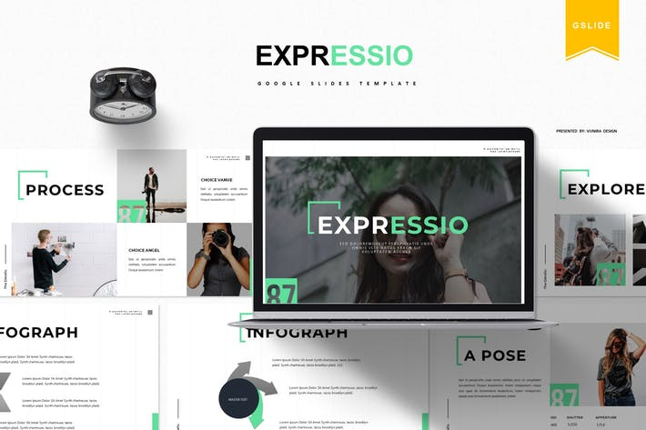 Thumbnail for Expressio | Google Slides Template