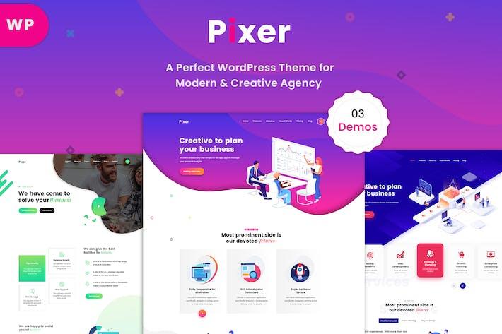 Thumbnail for Pixer - Digital Agency WordPress