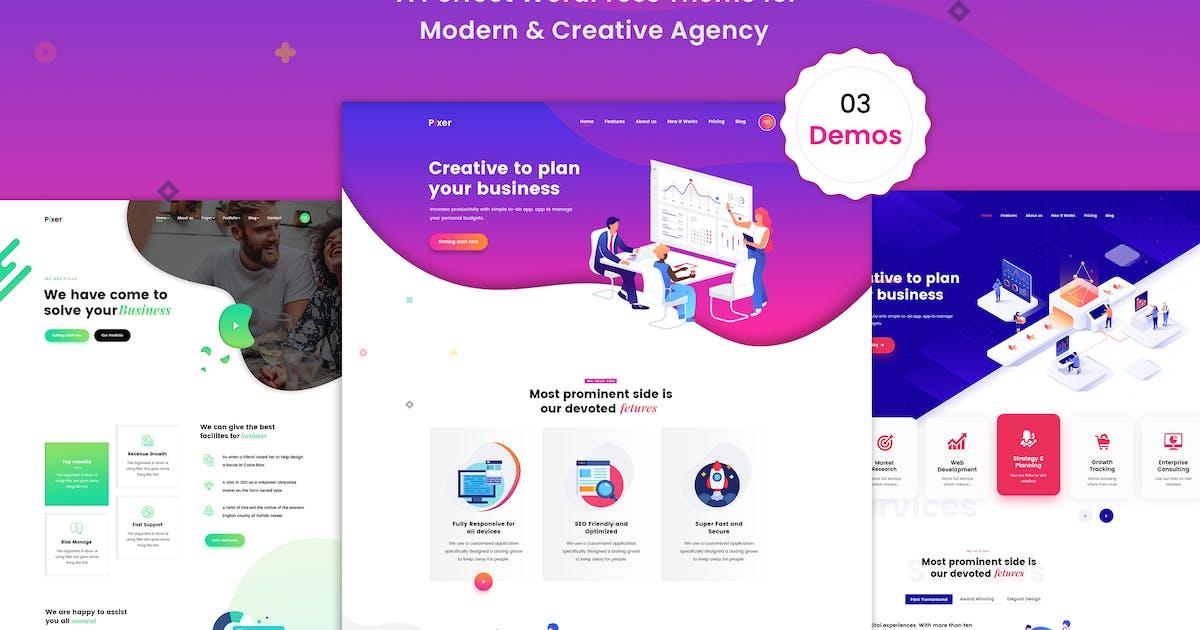 Download Pixer - Digital Agency Multi-Purpose WordPress by shtheme