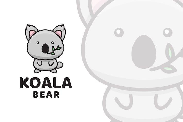 Thumbnail for Koala Bear Cute Logo Template