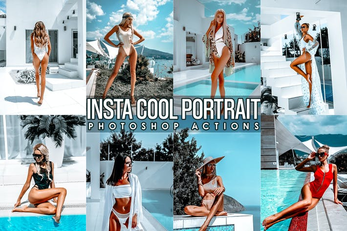Thumbnail for Instagram Cool  Effects Photoshop Actions