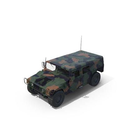 Troop Carrier HMMWV M1035 Door Open