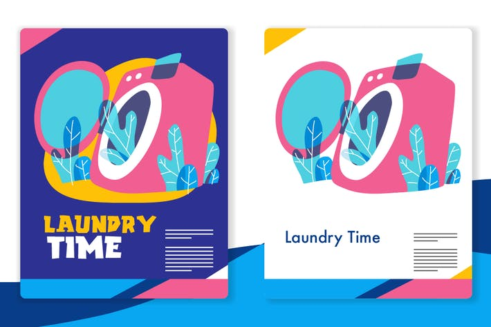 Thumbnail for Laundry Graphic - Mixcolor style vector 3