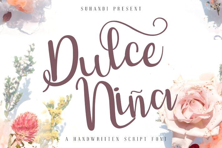 Thumbnail for Fuente de escritura Dulce Niña