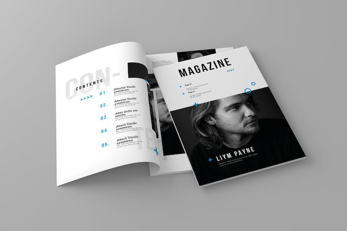 Thumbnail for Magazine Template Vol. 1