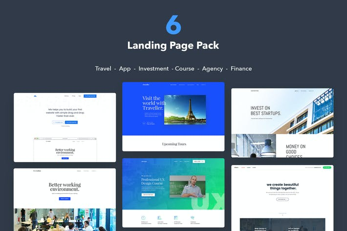 Thumbnail for Website UI Kit