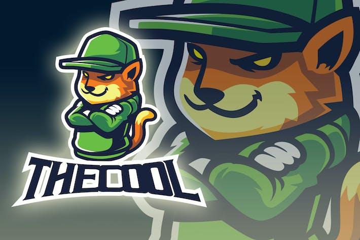 Thumbnail for Cool Fox Esport Logo
