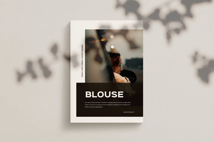 Thumbnail for Blouse - Magazine Template Indesign