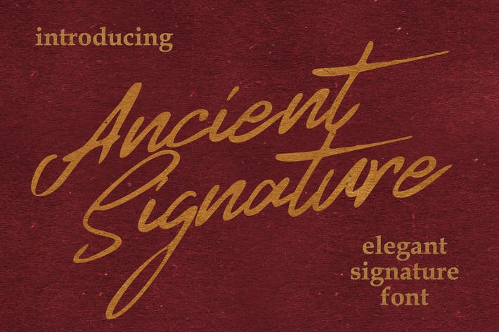 Thumbnail for Ancient Signature
