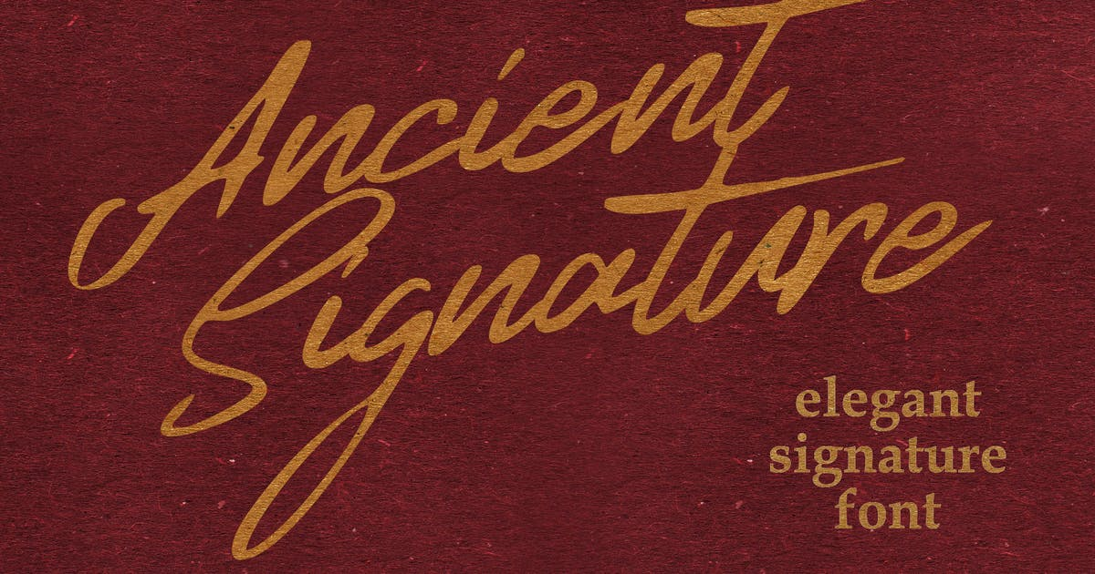 Download Ancient Signature by shirongampus