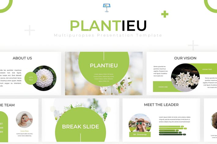 Thumbnail for Plantieu - Keynote Vorlage