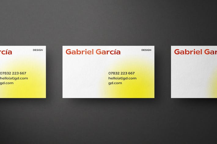 Thumbnail for Highlights Business Card Mockup