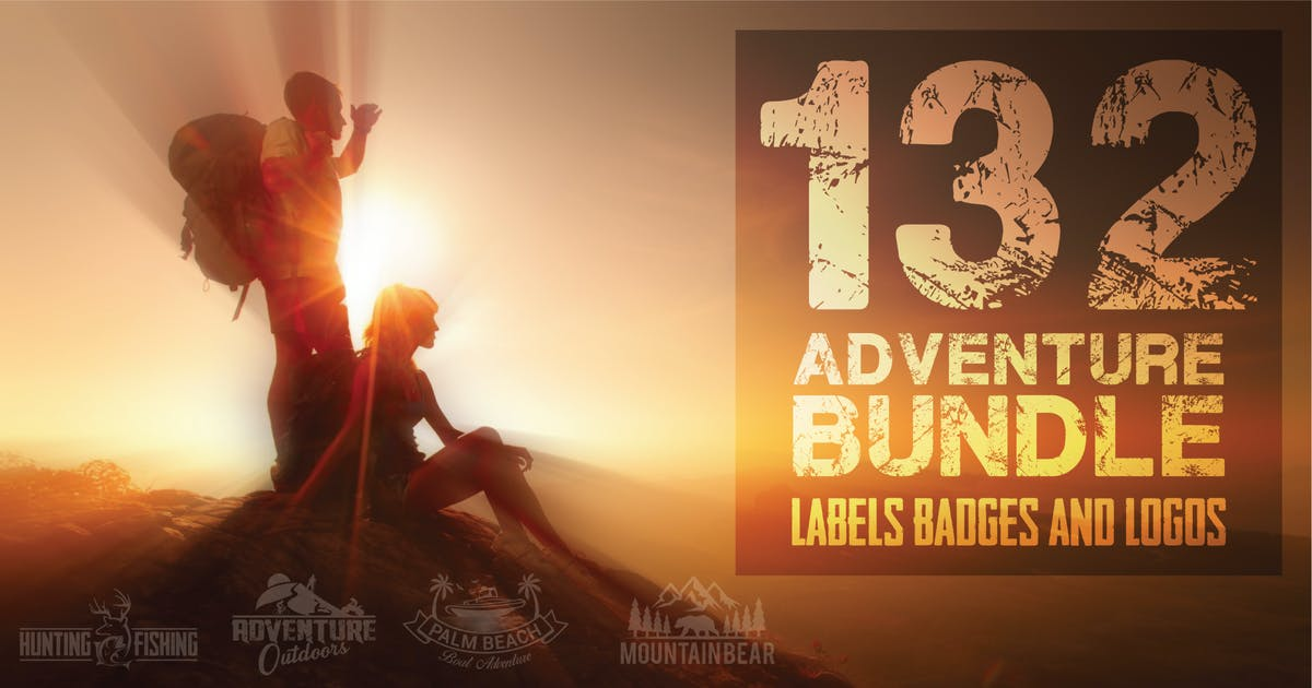 Download 132 ADVENTURE BUNDLE by shazidesigns