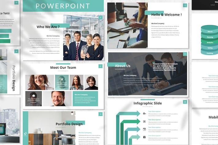 Thumbnail for Stendarr - Business Powerpoint Template