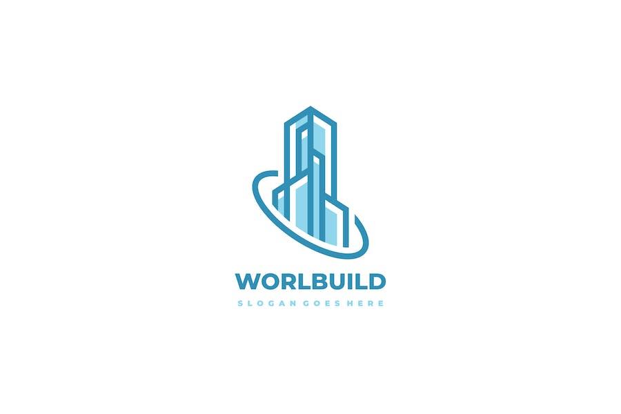 World Real Estate Logo
