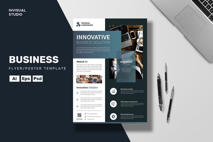 Thumbnail for Innovative Business - Flyer Template