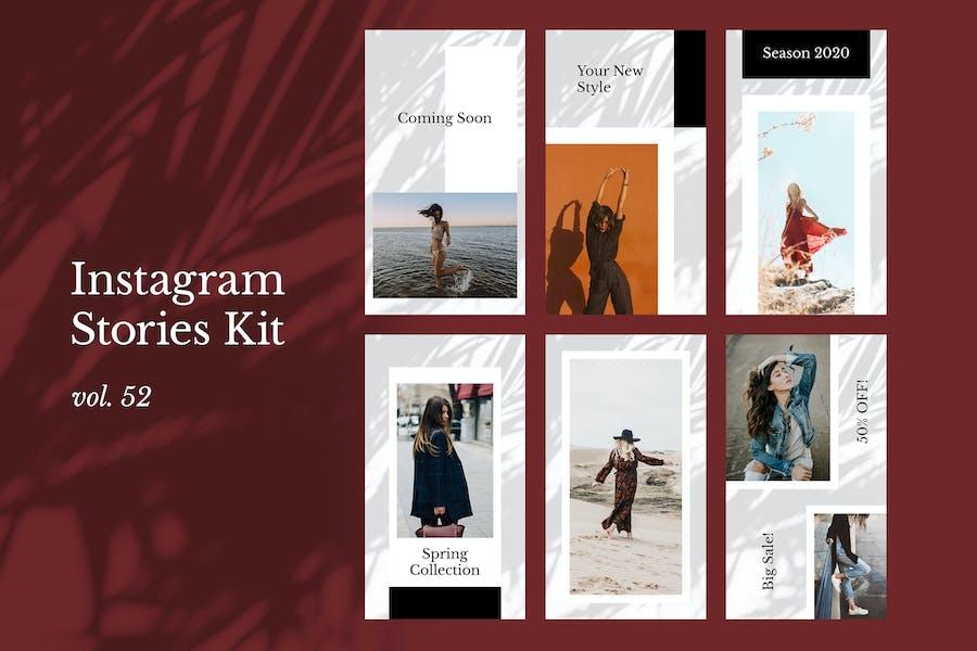 Instagram Stories Kit (Vol.52)