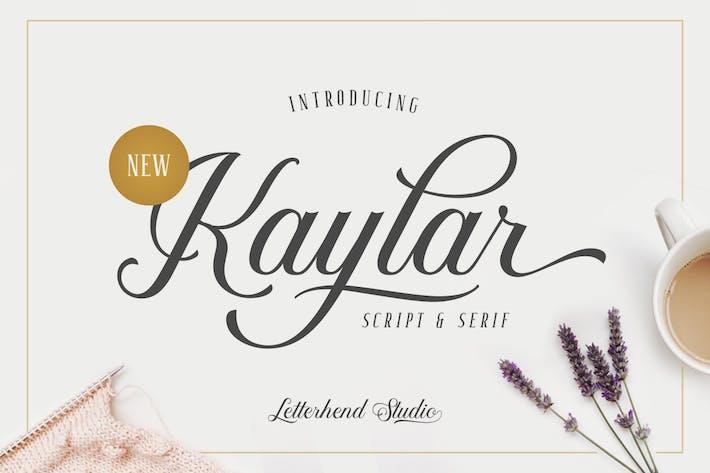 Thumbnail for Kaylar - Élégant Script & Serif