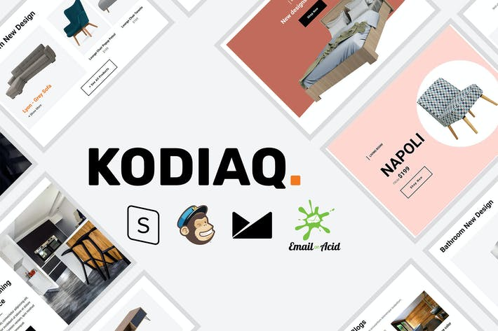 Thumbnail for Kodiaq - E-Commerce Responsive Email Plantilla