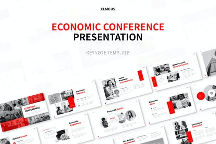 Economic Conference Keynote Template Presentation