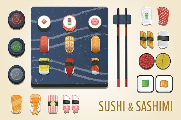 Thumbnail for Sushi & Sashimi Icon