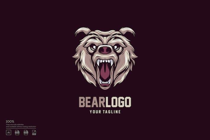 Thumbnail for Bear logo design
