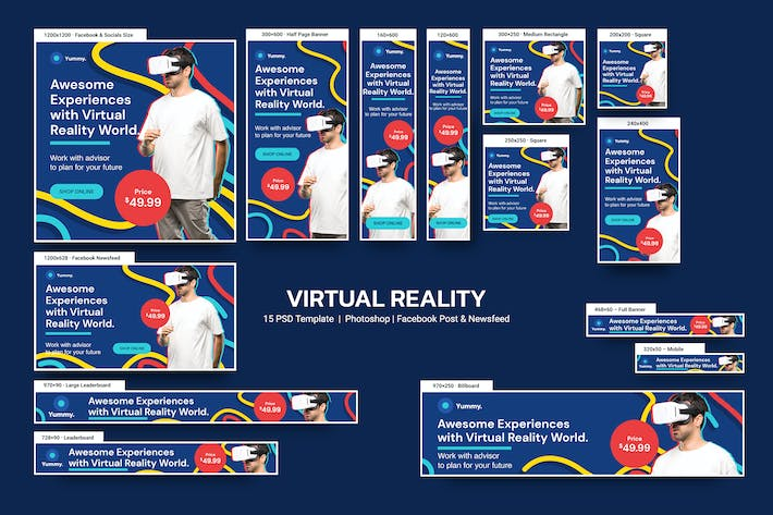 Virtual Reality Banners Ad