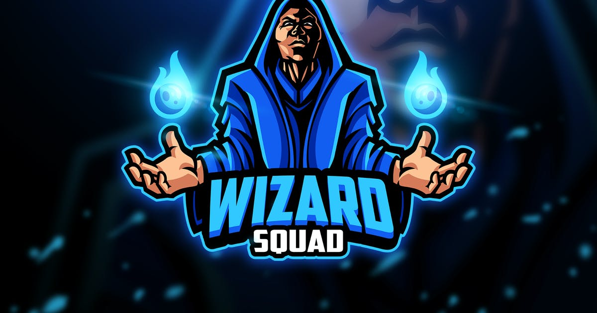 Wizard - Mascot & Esport Logo by aqrstudio