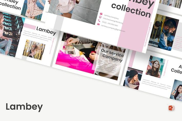 Thumbnail for Lambey - Шаблон Powerpoint
