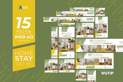 Web Ad Banners - Homestay 01