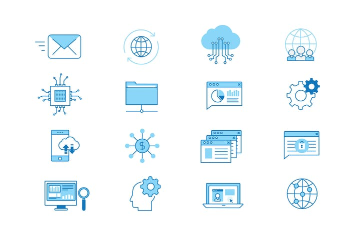 Thumbnail for Professional Networking Icons