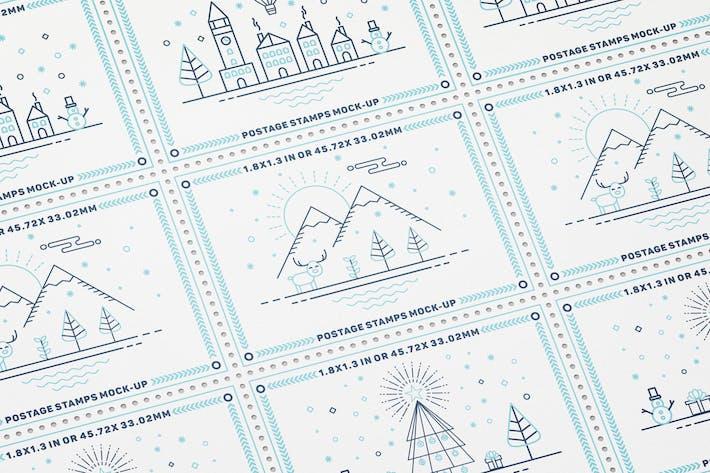 Thumbnail for Maques-Ups de timbres-poste