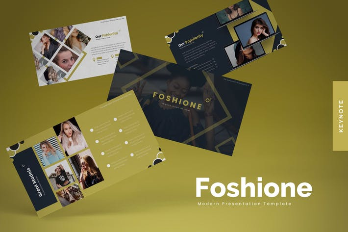 Thumbnail for Foshione - Keynote Template